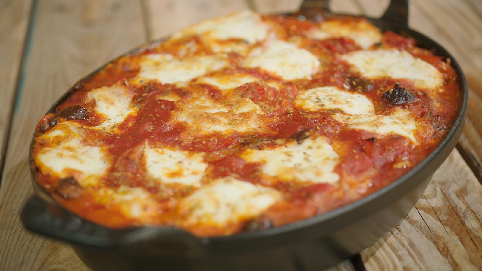 Cannelloni puttanesca