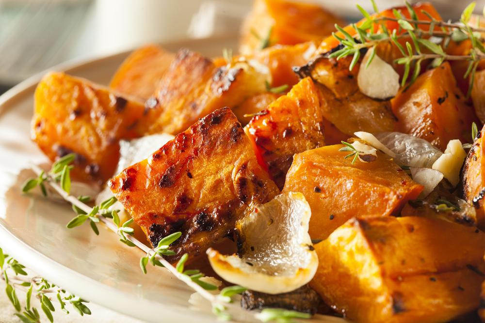gebakken zoete aardappel recept
