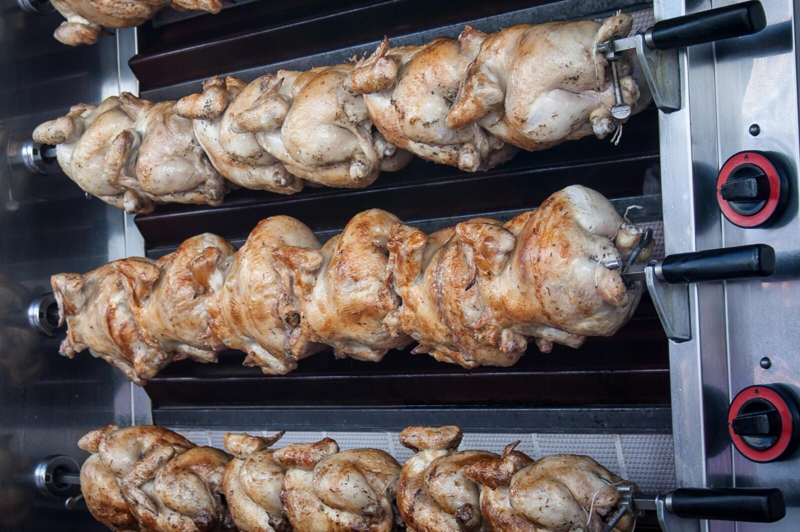 kip aan het spit kruiden