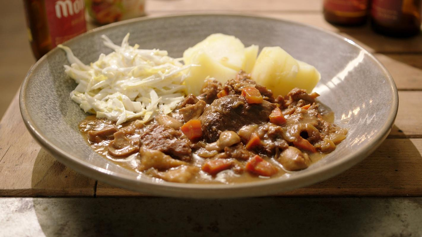 Vegetarisch stoofvlees
