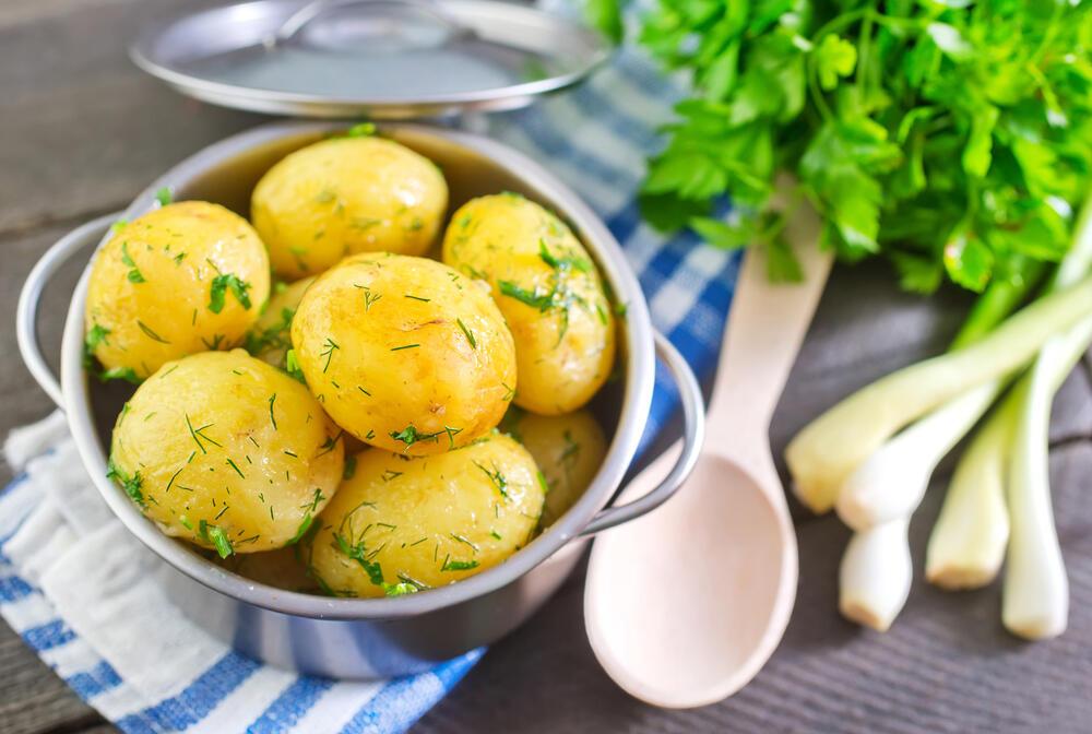 wanneer zijn aardappelen gaar
