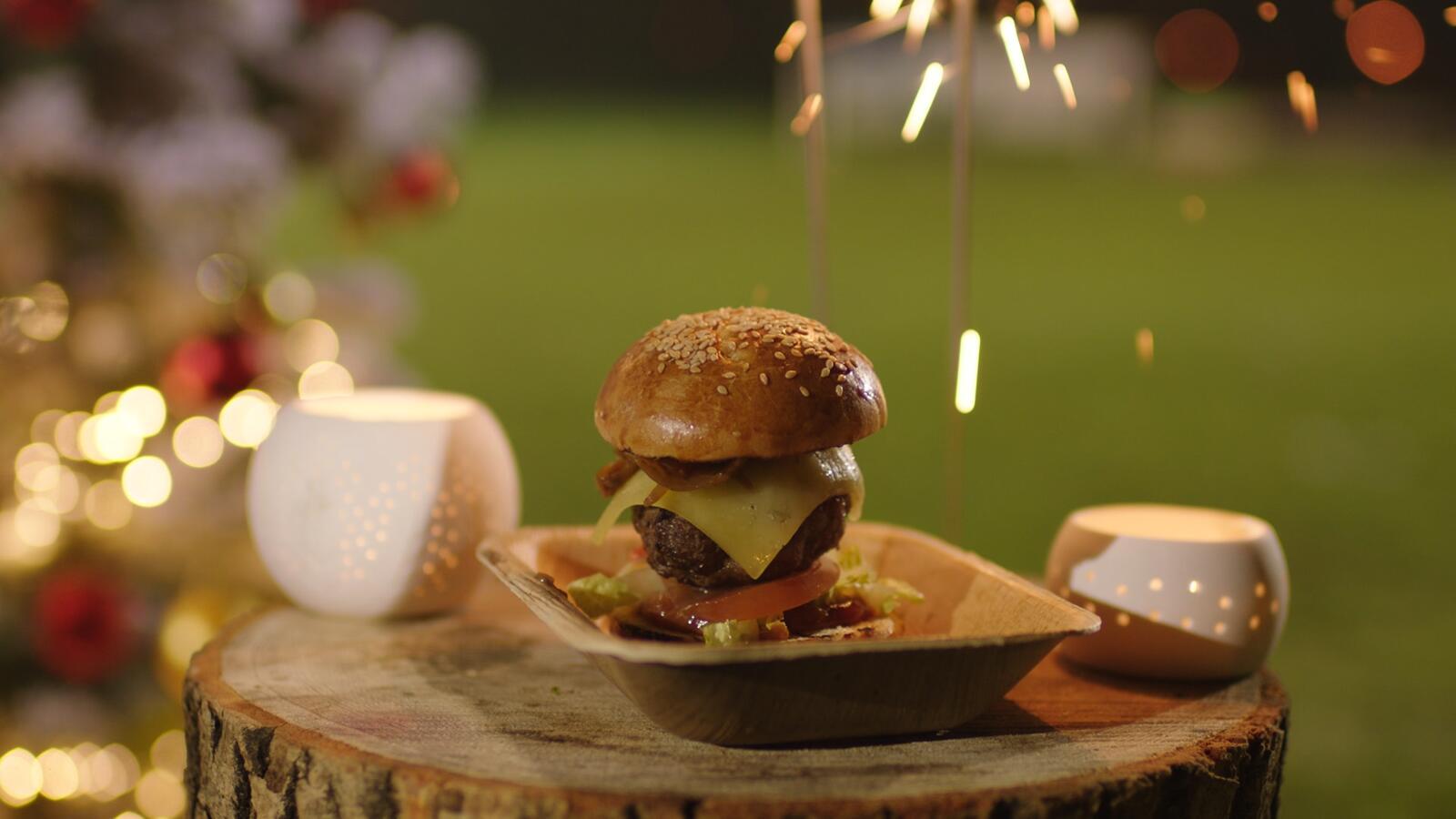 Voetbalburgers