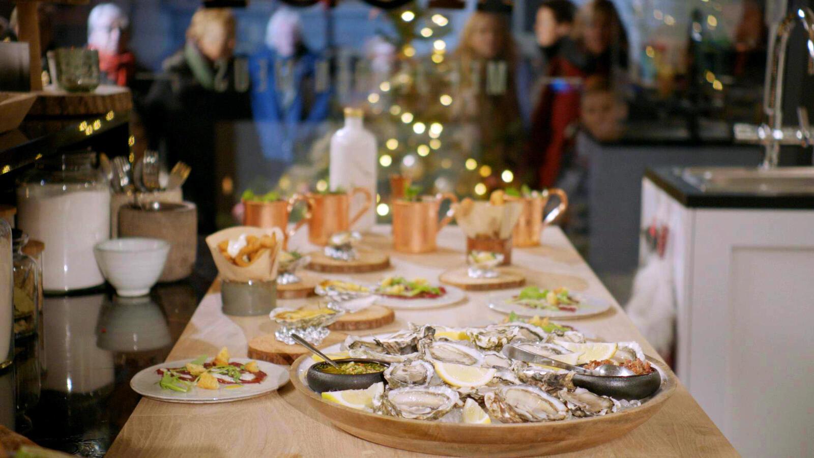 Kersthapjes en aperitief
