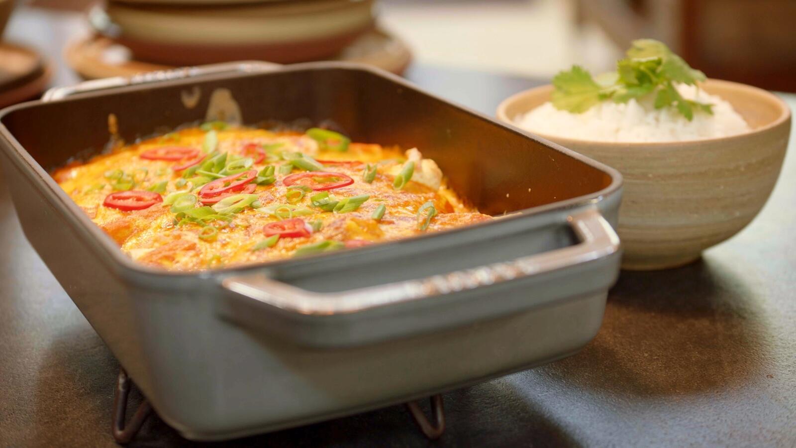 Vegetarische enchilada's