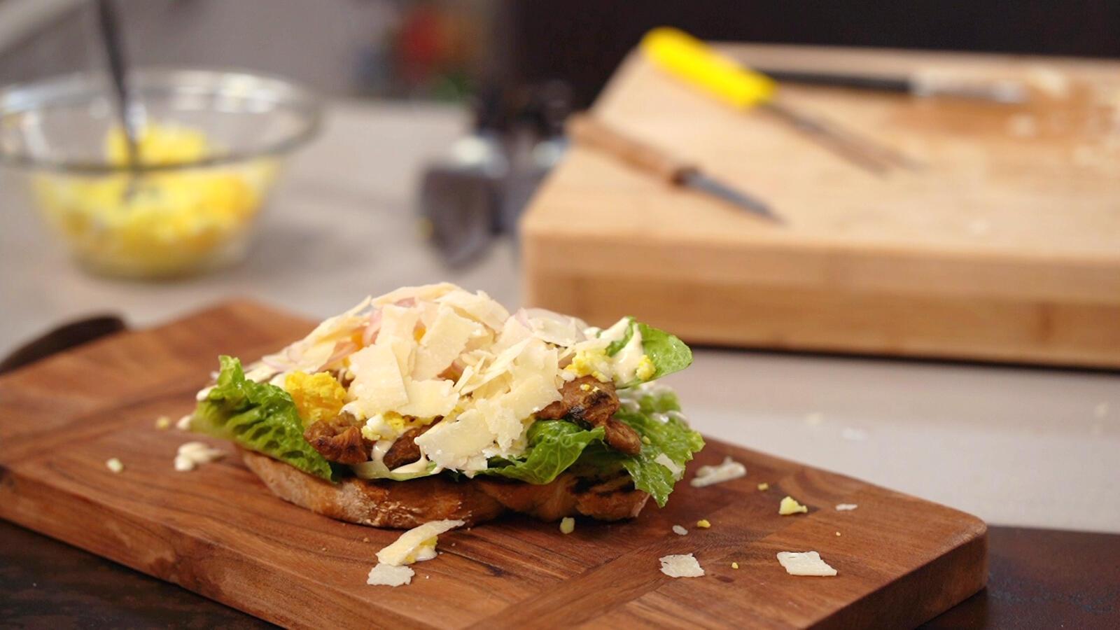"""Caesar"" sandwich"