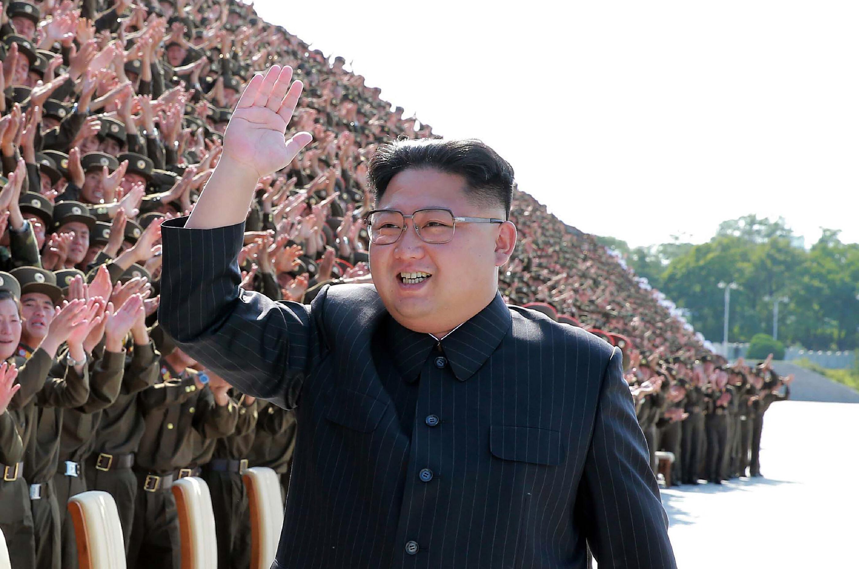 """Kim Jong-un over Trump: """"Ik zal de mentaal gestoorde oude Amerikaanse gek met vuur temmen"""""""