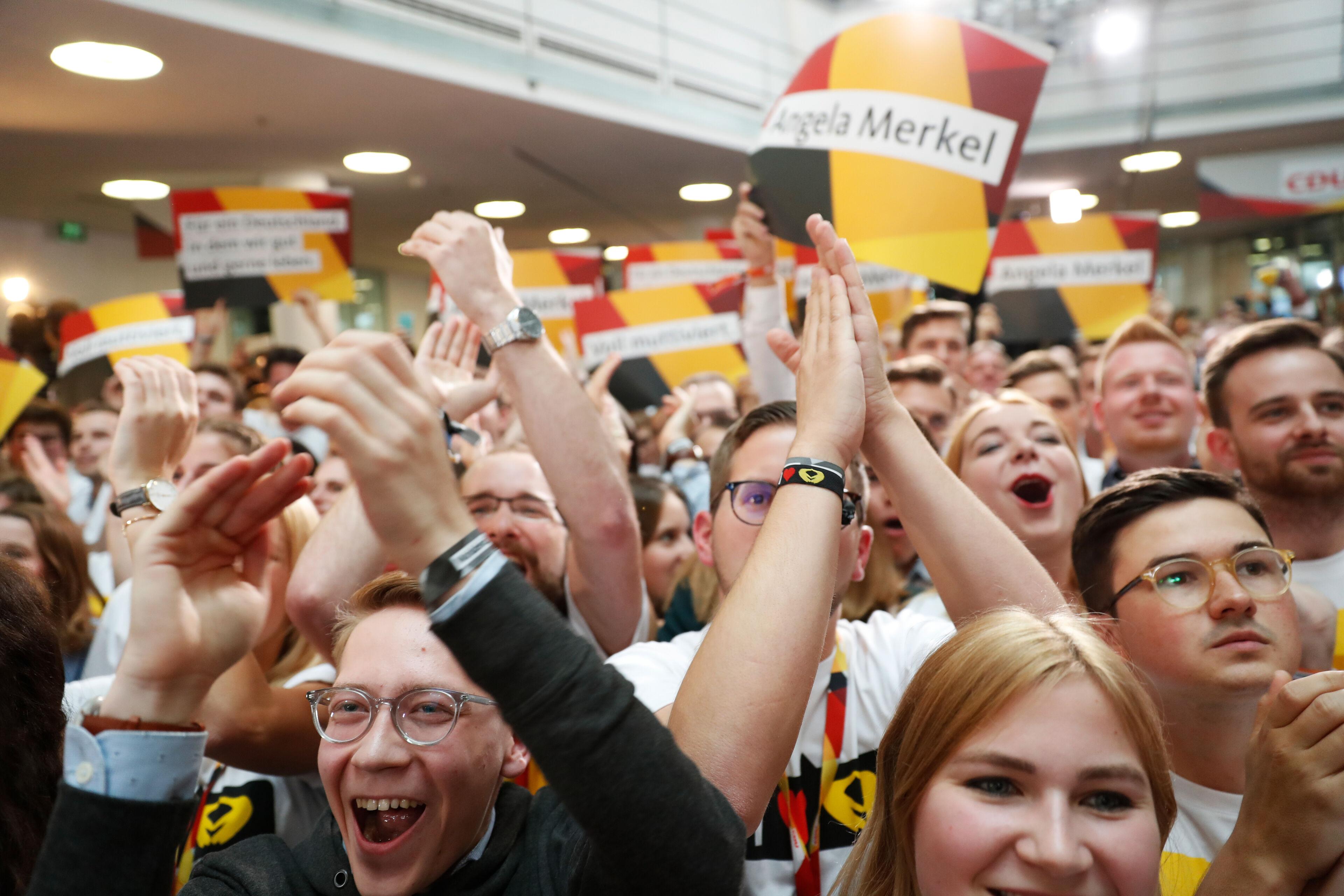 Herbeleef hier de liveblog over de Duitse verkiezingen