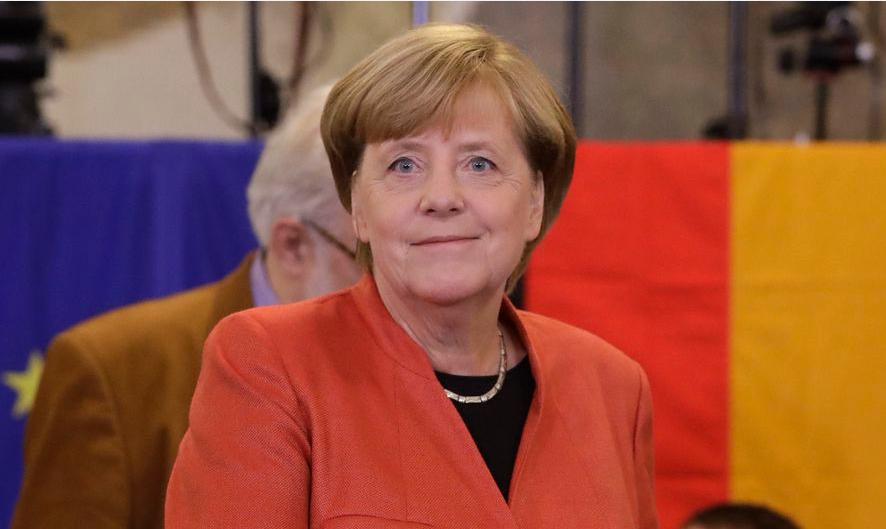 CDU/CSU van bondskanselier Merkel blijft grootste, radicaal-rechtse AfD wordt derde partij