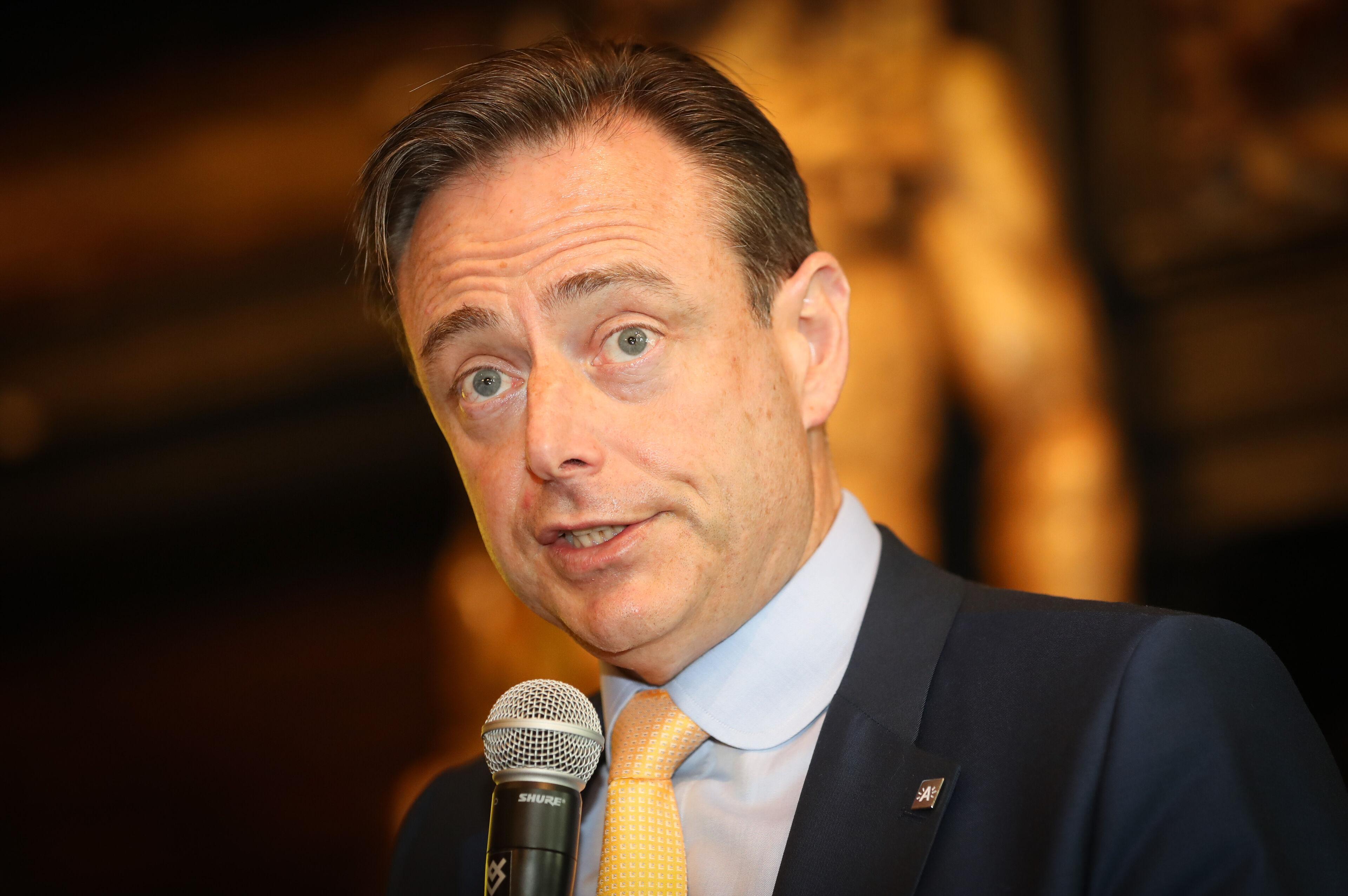 Bart De Wever herverkozen voor een vijfde termijn als N-VA-voorzitter