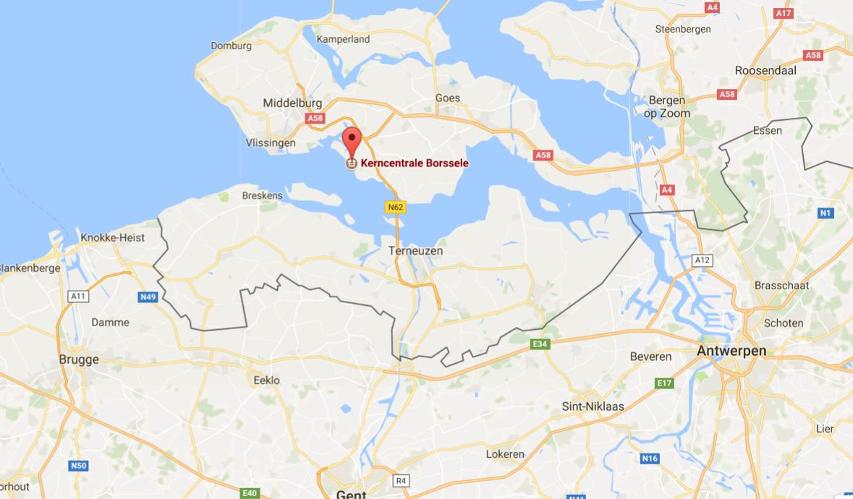 Kerncentrale net boven Belgische grens in Zeeland stilgelegd na kortsluiting