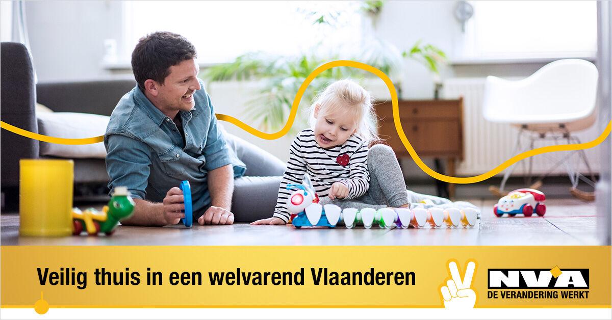 """N-VA gaat voor """"Veilig thuis in een welvarend Vlaanderen"""""""