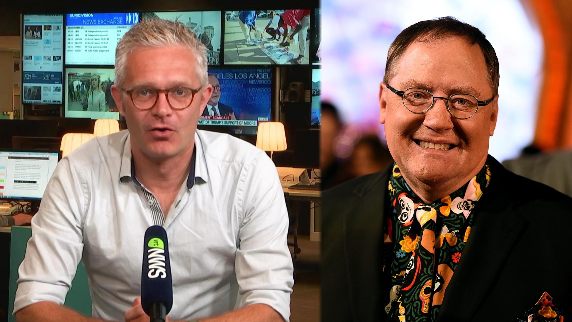 """Ward Verrijcken: """"John Lasseter behoort tot top van Hollywood, Pixar zit met een groot probleem"""""""