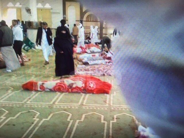 Zeker 200 doden bij aanslag  op moskee in Egypte