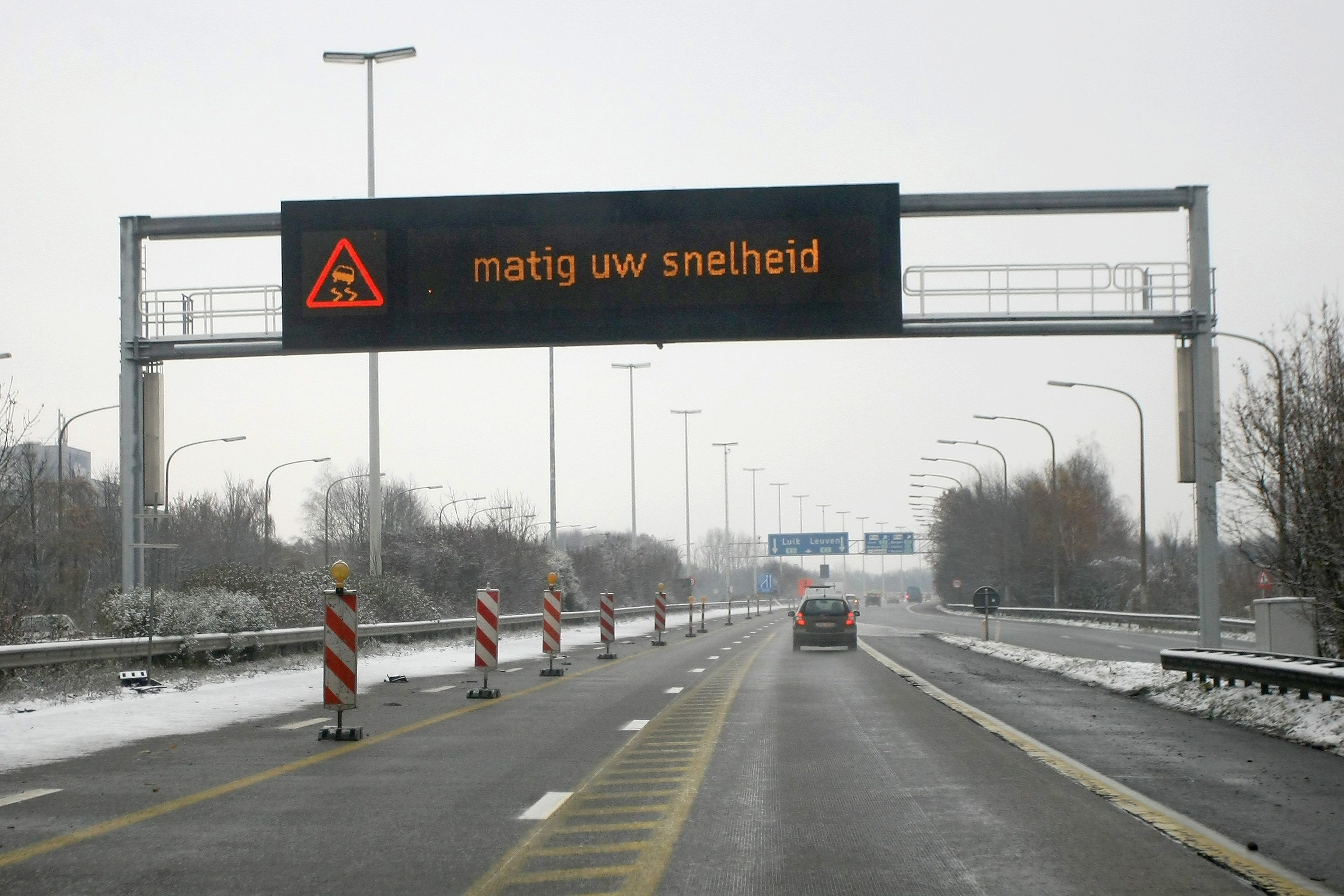 In de winter de weg op? Zo doe je dat het best (niet)