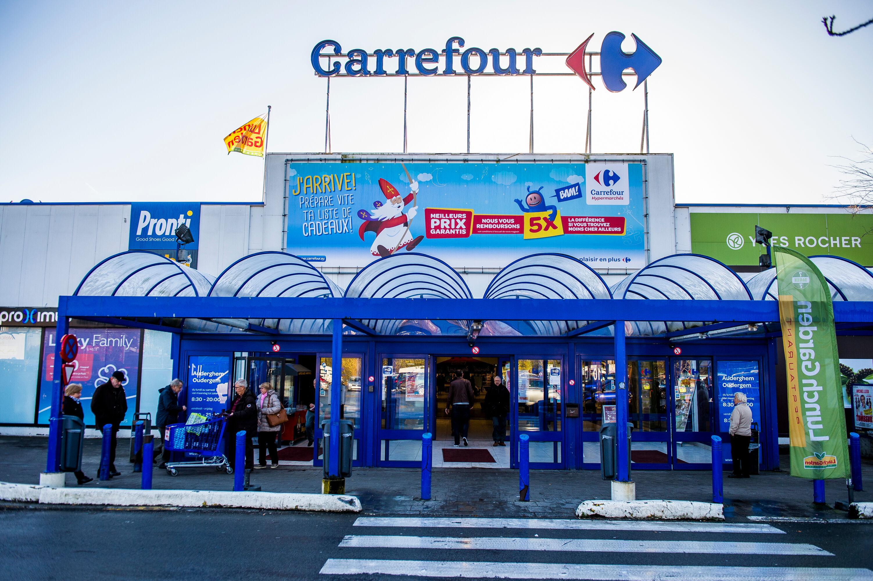 Carrefour schrapt 2.400 banen in Frankrijk