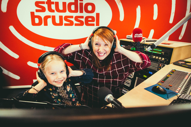 Lis (6) wil later Linde Merckpoel worden en mocht een uur lang mee presenteren