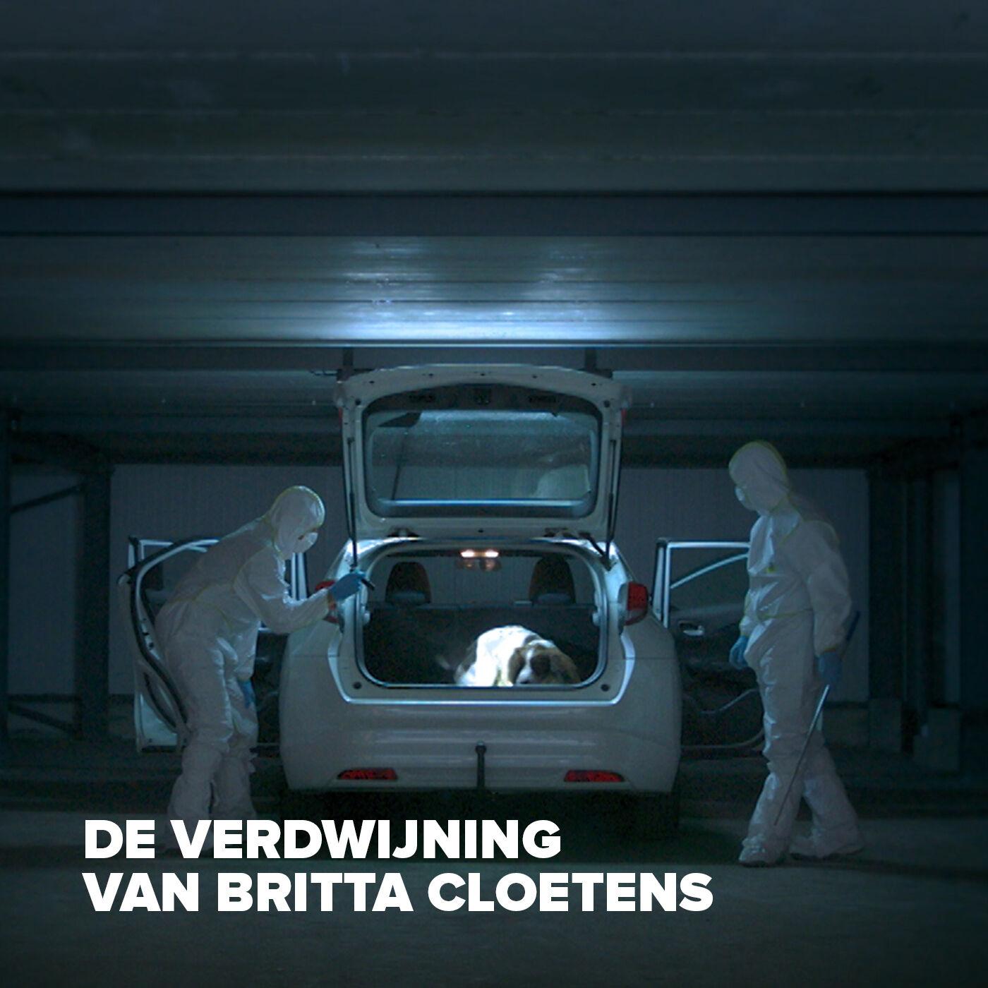 De Verdwijning van Britta Cloetens logo