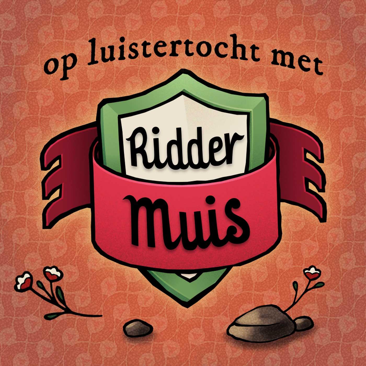 Op luistertocht met Ridder Muis logo
