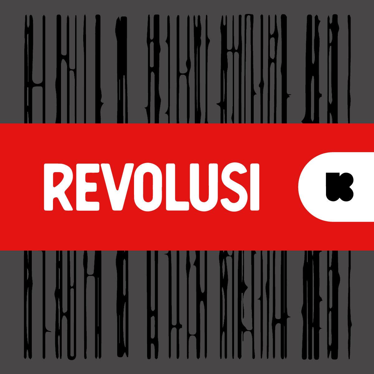 Revolusi met David Van Reybrouck logo