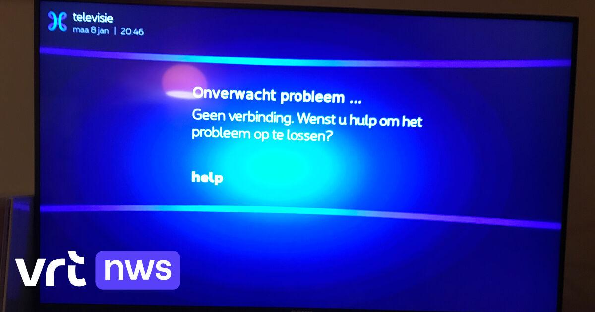Grote Storing Bij Proximus TV, Probleem Van De Baan