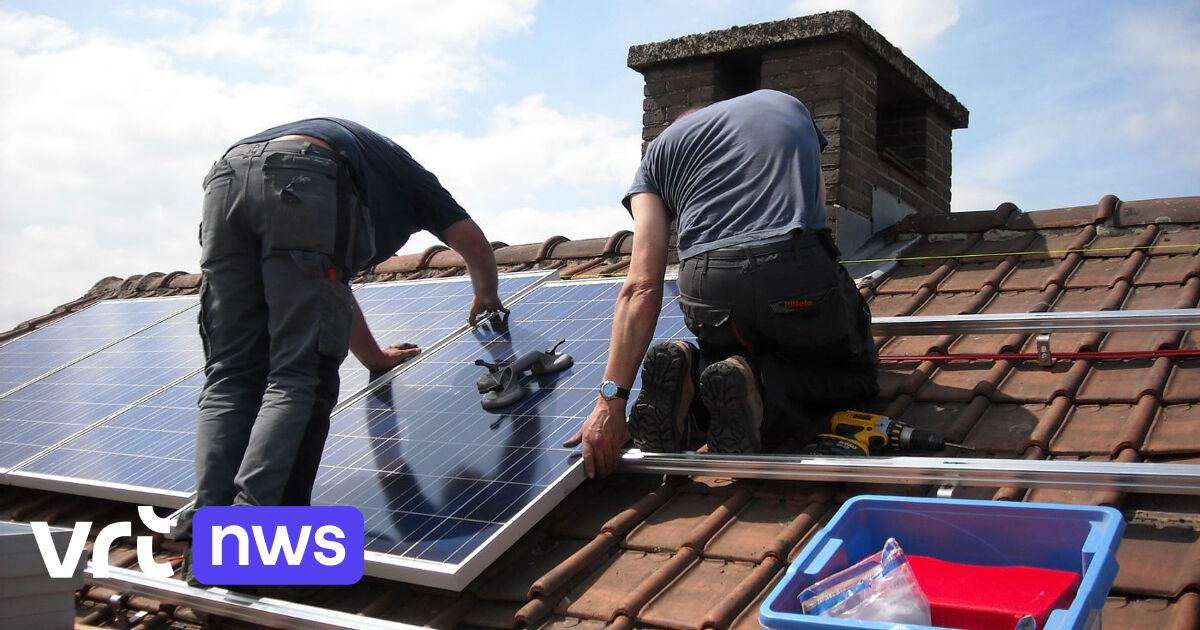 La Flandre réintroduit une prime pour l'installation de panneaux photovoltaïques
