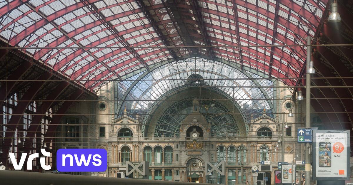 Nmbs Opent Eet En Drinkzone In Centraal Station Antwerpen Vrt Nws Nieuws