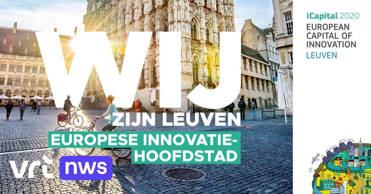 Leuven is de meest innovatieve stad van Europa en wint 1 miljoen euro