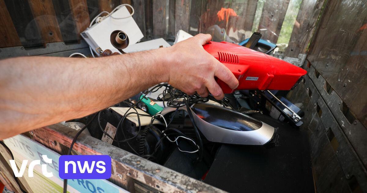 Selon la cour des comptes, la Flandre ne recycle pas assez ses déchets électroniques