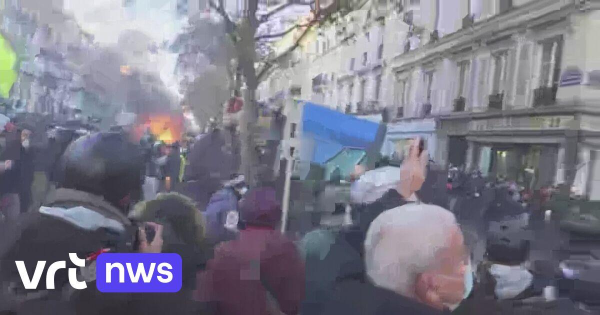 Rellen bij betoging in Parijs tegen omstreden nieuwe veiligheidswet