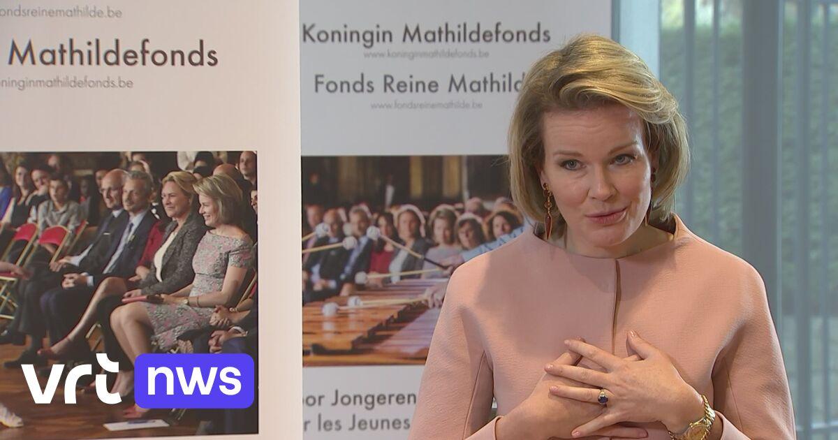 Koningin Mathilde na 20 jaar fonds: «Vertellen hier ook over aan onze kinderen, als aanmoediging tot sociaal engagement»