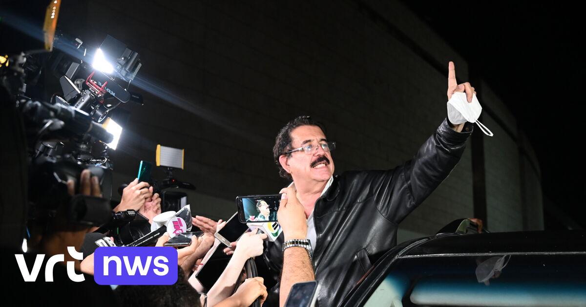 Oud-president Honduras op luchthaven betrapt met 18.000 dollar in rugzak