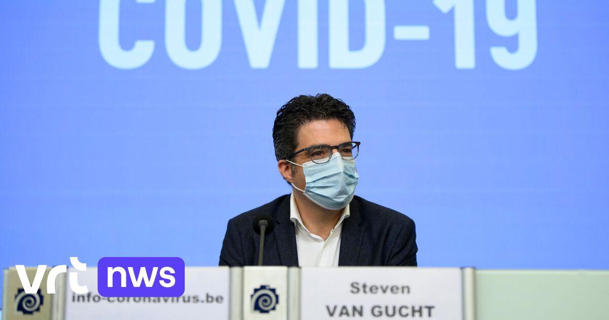 Liveblog - Viroloog Van Gucht: