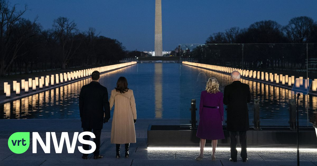 Eerbetoon van Joe Biden aan coronaslachoffers in VS: «Om te genezen mogen we niet vergeten»