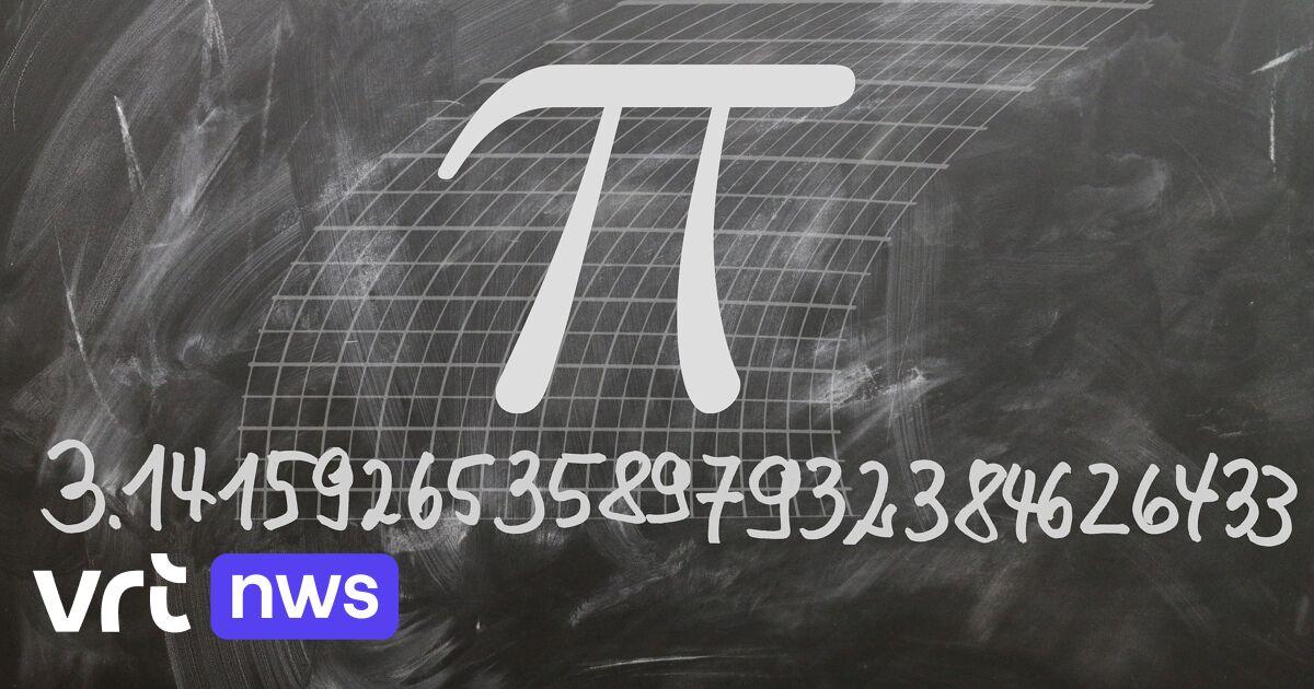 Zesdejaars leren zo veel mogelijk cijfers van het oneindige getal pi vanbuiten: