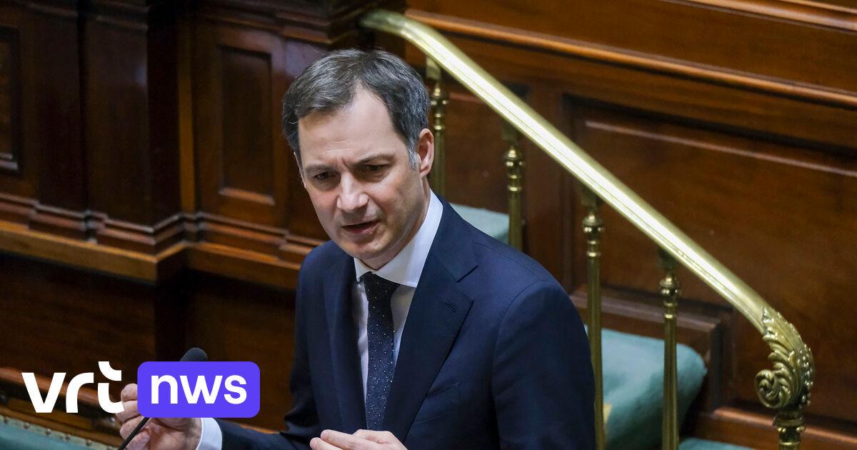 Liveblog - Premier De Croo blikt vooruit op Overlegcomité van morgen: