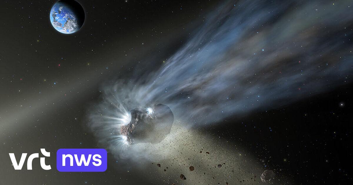 Komeet Catalina doet veronderstellen dat kometen koolstof geleverd hebben aan rotsachtige planeten, zoals de aarde - VRT NWS