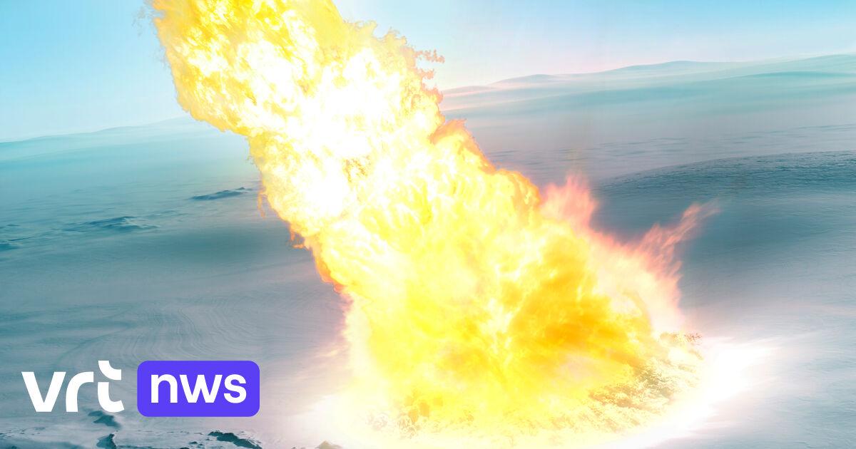 Belgisch onderzoek bewijst dat 430.000 jaar geleden een grote meteoriet ontplofte net boven Antarctica