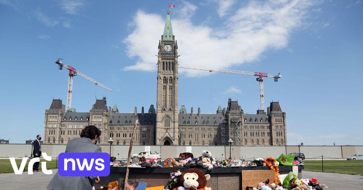 Betogers eisen onderzoek naar inheemse internaten in Canada