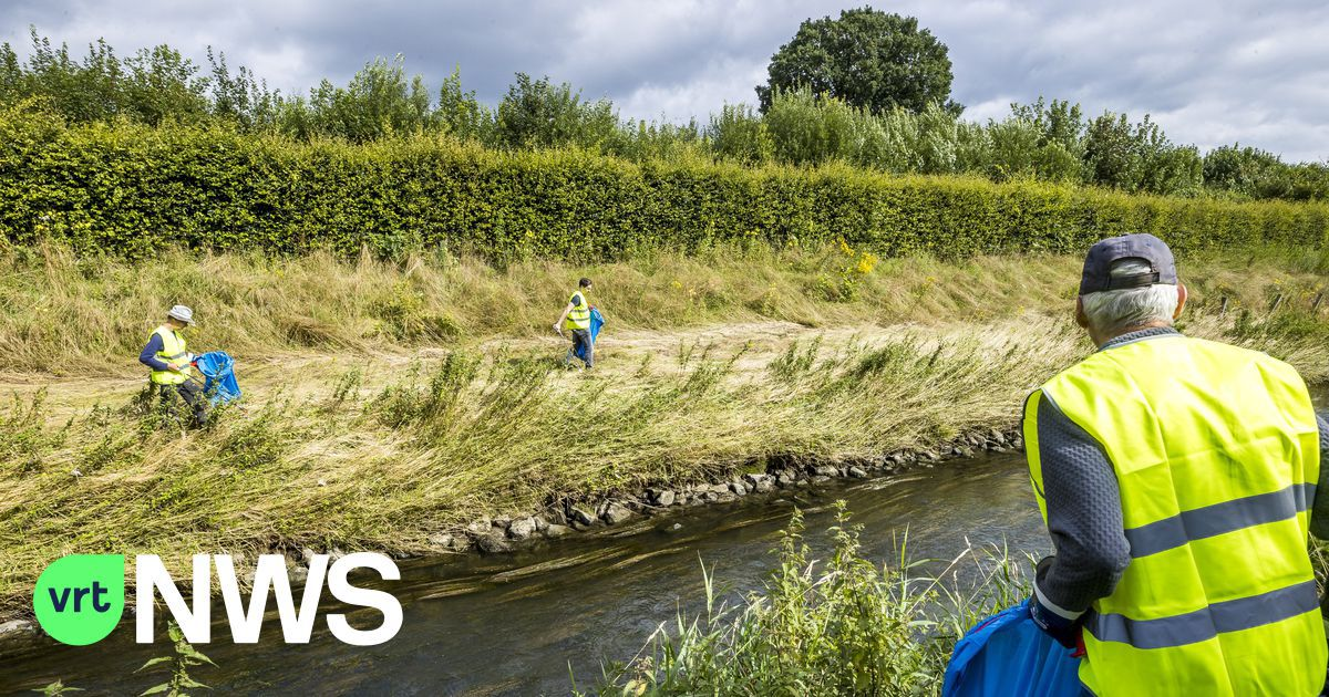 Limburgse gemeenten ruimen Maasoevers op na noodweer: «Geen maat op wat achterbleef, van bierkratten tot botervlootjes»