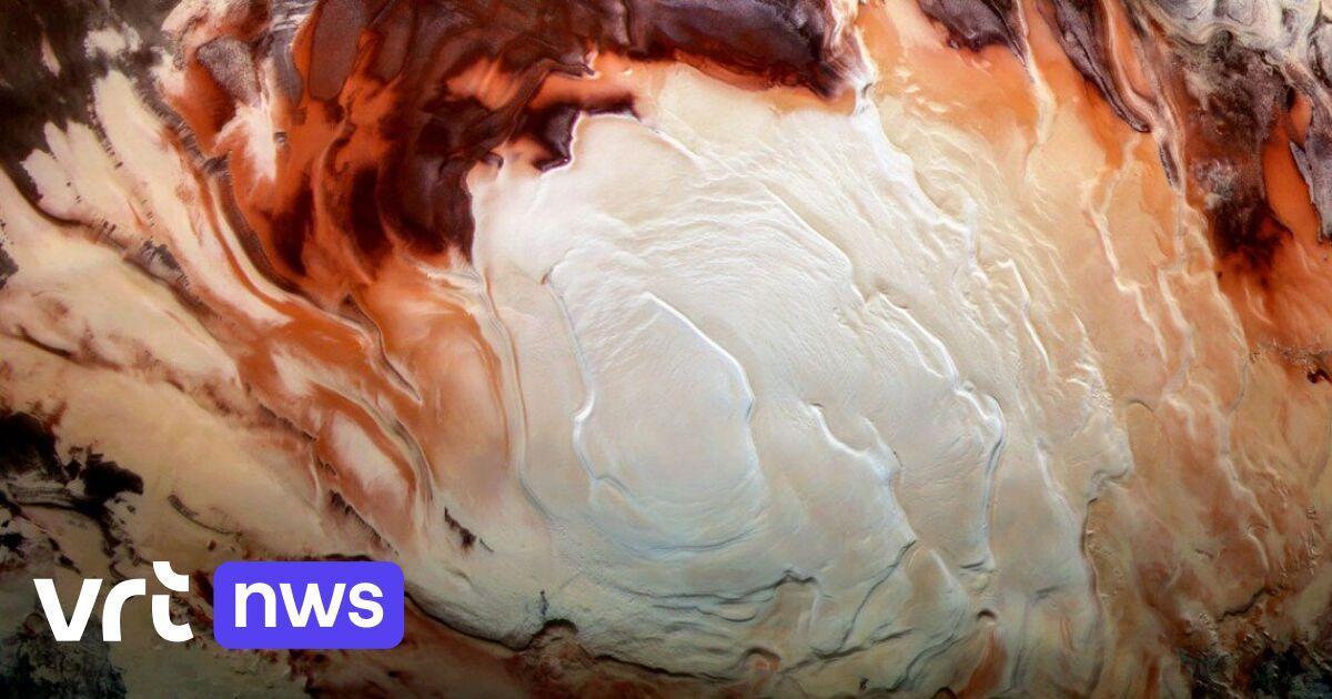 'Ondergrondse meren' van vloeibaar water op Mars hoe langer hoe onwaarschijnlijker