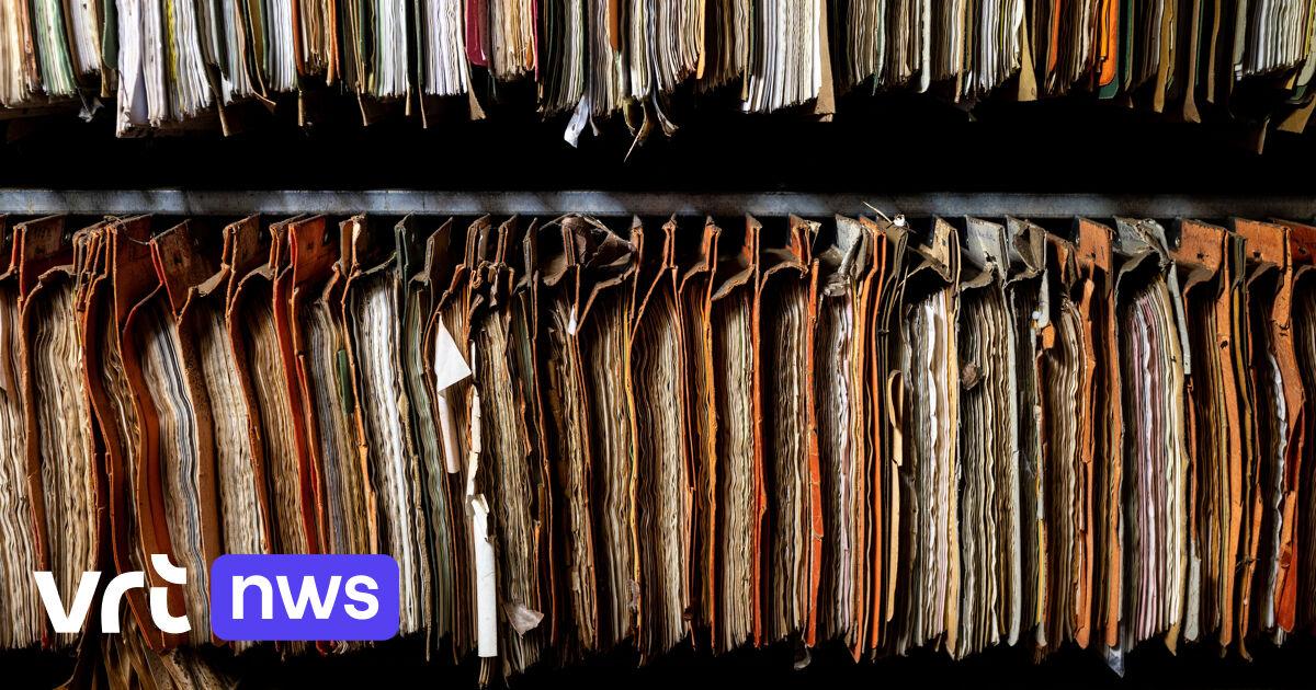 Al heel wat archieven die te lijden hadden onder noodweer in Wallonië gered