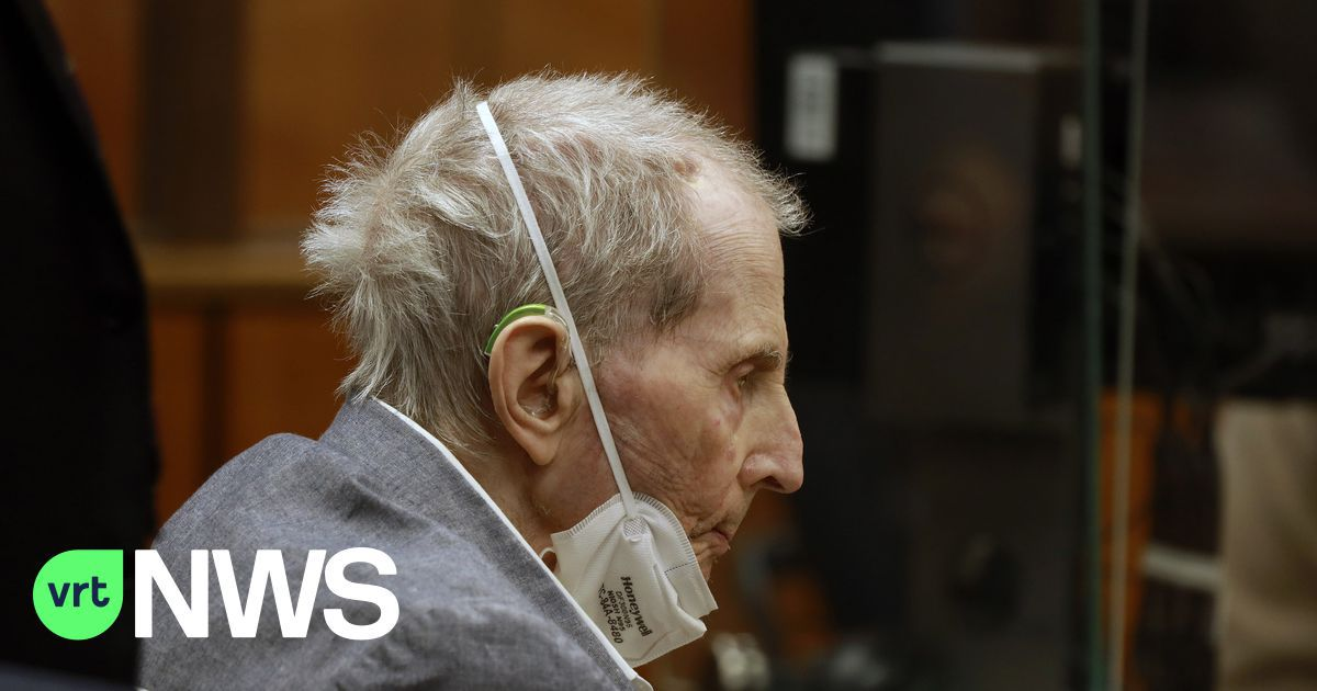 Amerikaanse miljonair Robert Durst veroordeeld voor moord op vriendin: de man die zijn mond voorbij praatte op tv