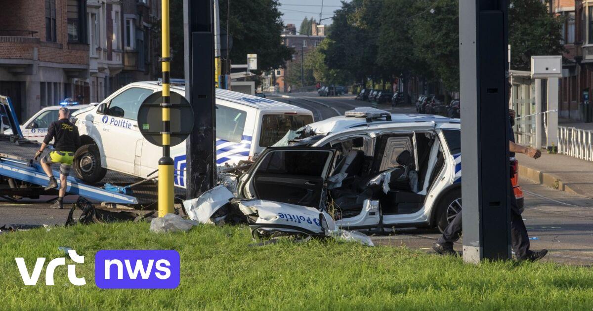 Twee agenten van Gentse politie even in levensgevaar na nachtelijk ongeval met interventiewagen