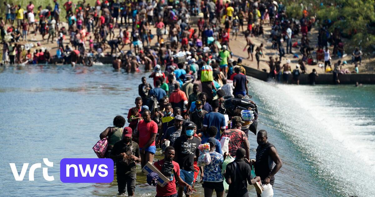 VS wil duizenden Haïtiaanse migranten aan Texaanse grens terugvliegen naar hun thuisland, grens met Mexico gesloten