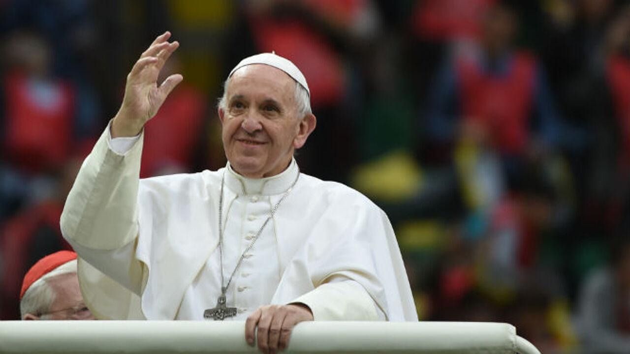 Miljoen gelovigen voor mis van paus Franciscus vlakbij Milaan