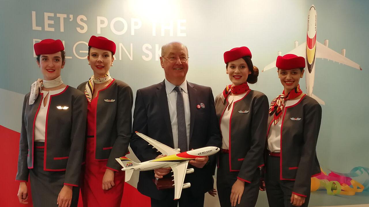 Nieuwe luchtvaartmaatschappij Air Belgium mag nu ook echt de lucht in