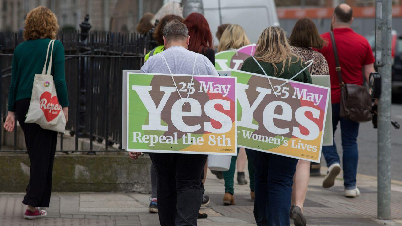 """""""Ik denk dat Ierland zonder het te beseffen een nieuwe tijd ingegaan is"""""""
