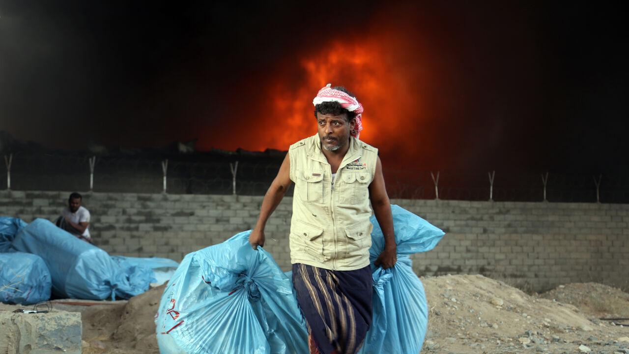 Jemenitische havenstad hodeida brandt vn gezant for Arabische havenstad