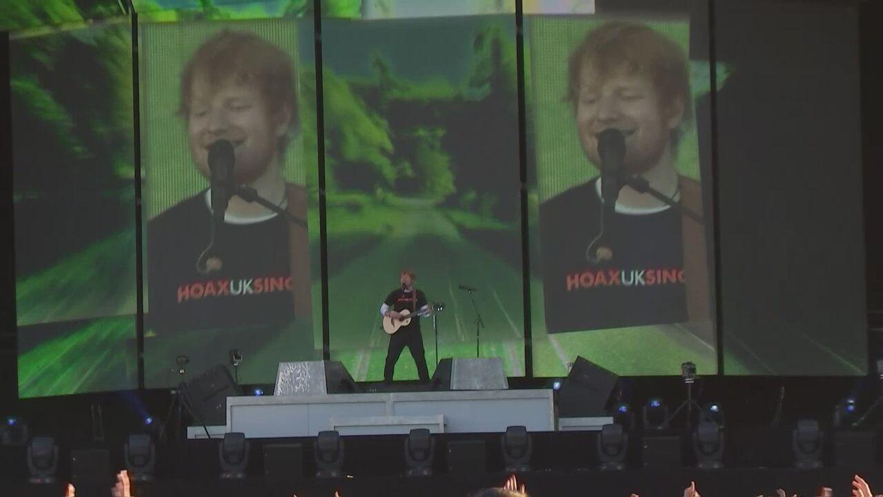 Ed Sheeran Thrills Fans At Werchter Flanders News