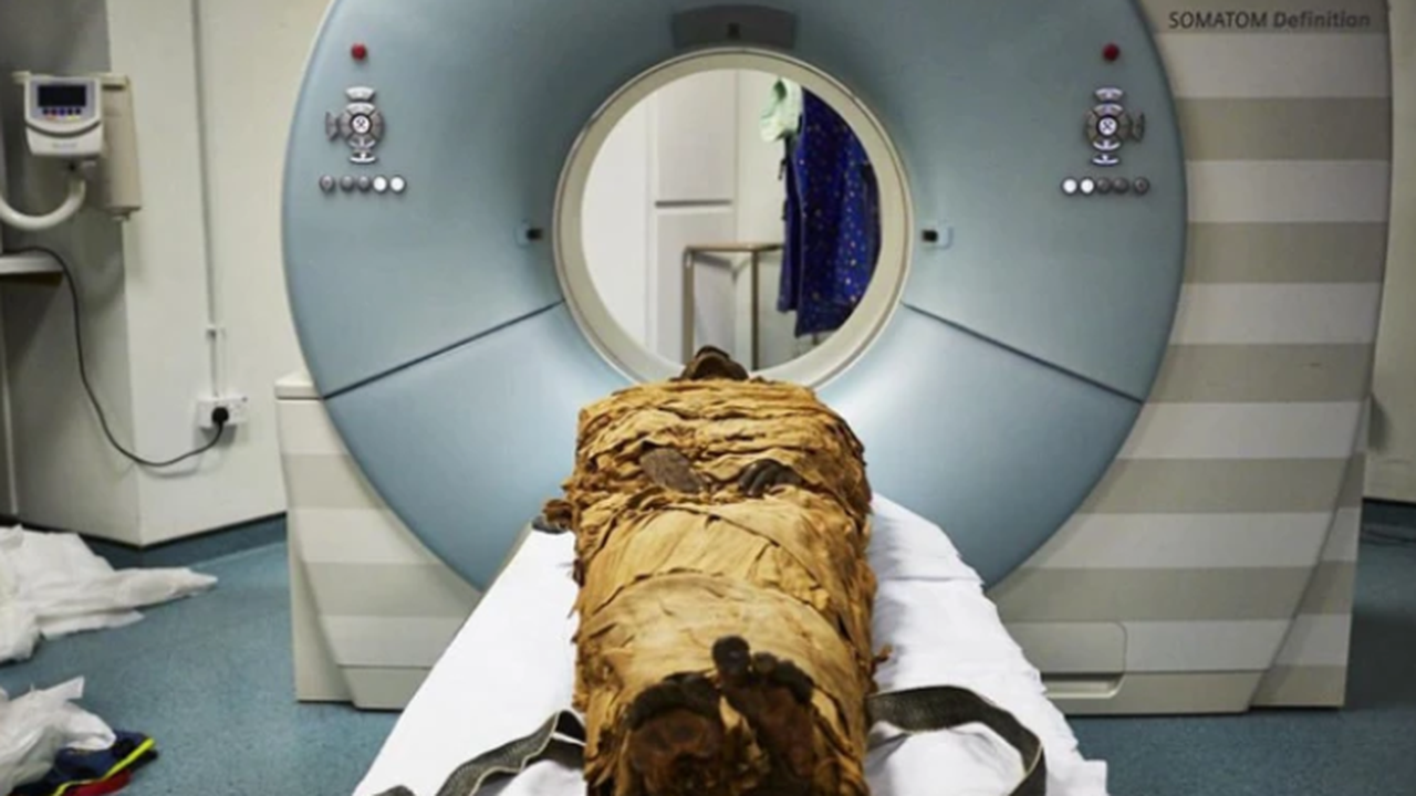 sprekende mummie
